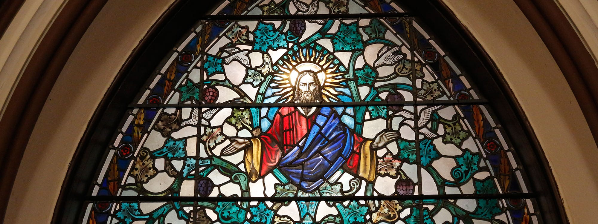 St. Thomas Jesus Stained Glass