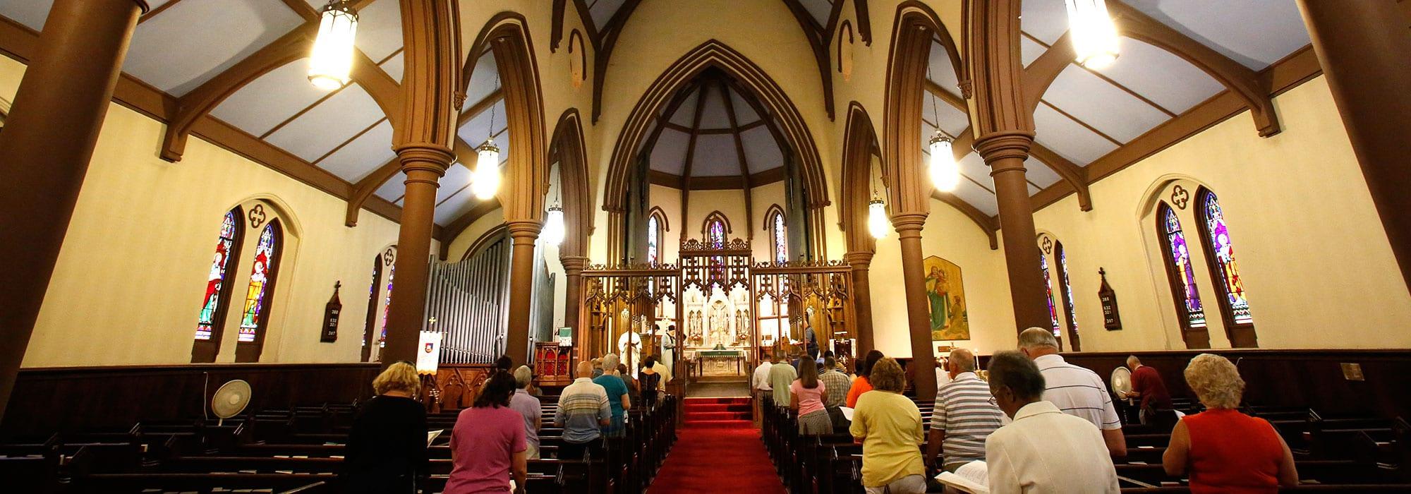 Inside of Church of St. Thomas